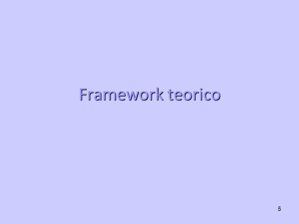 5 Framework teorico