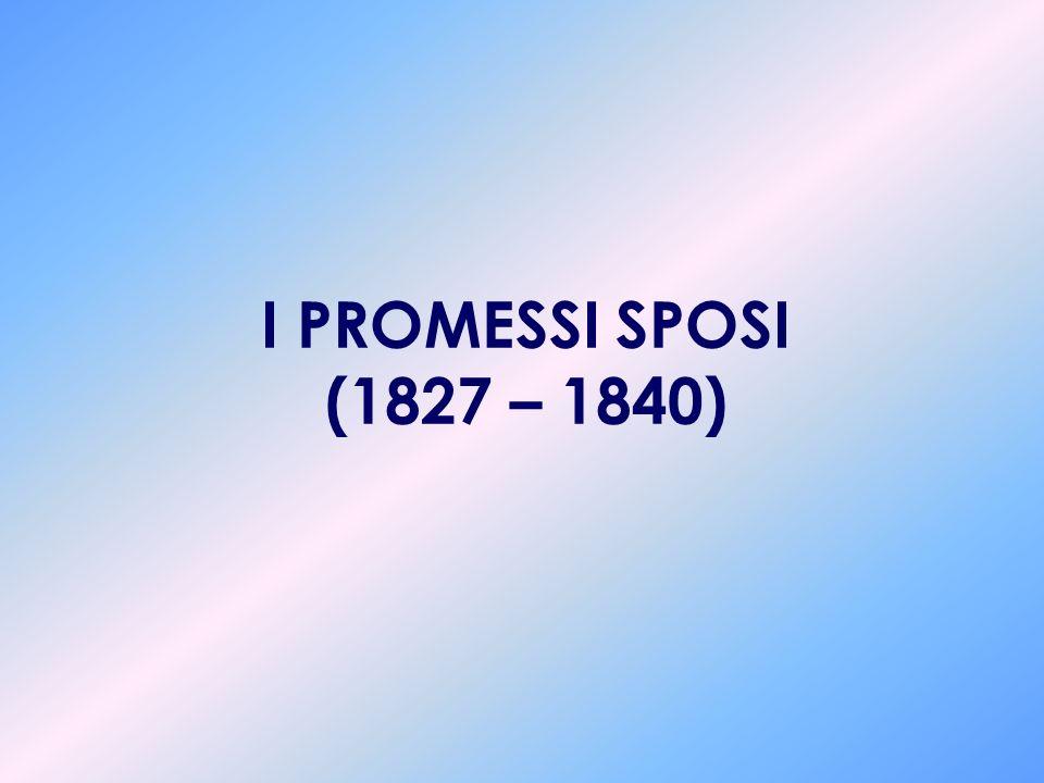 LE OPERE 1809 Urania: rappresenta lunica esperienza a carattere mitologico- allegorico della vita del poeta. 1812 Inni Sacri: scritti fin dal 1810, ra