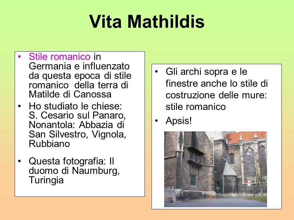 Matilde di Canossa Matilde e Goffredo il Gobbo si unirono in matrimonio: Il marito era un giovane coraggioso e retto ma afflitto da alcuni difetti fis