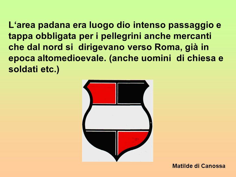 Matilde di Canossa In epoca medioevale la dimensione religiosa è al centro della vita dell uomo. Essere in grazia di Dio è la situatione ideale. Lungo