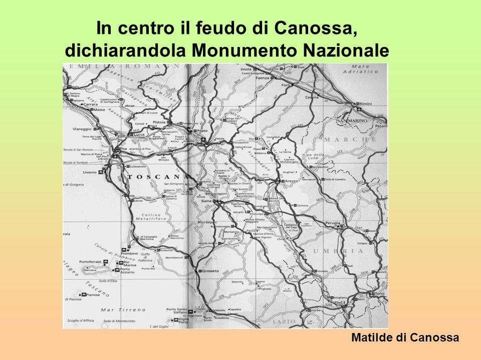 Matilde di Canossa Larea padana era luogo dio intenso passaggio e tappa obbligata per i pellegrini anche mercanti che dal nord si dirigevano verso Rom