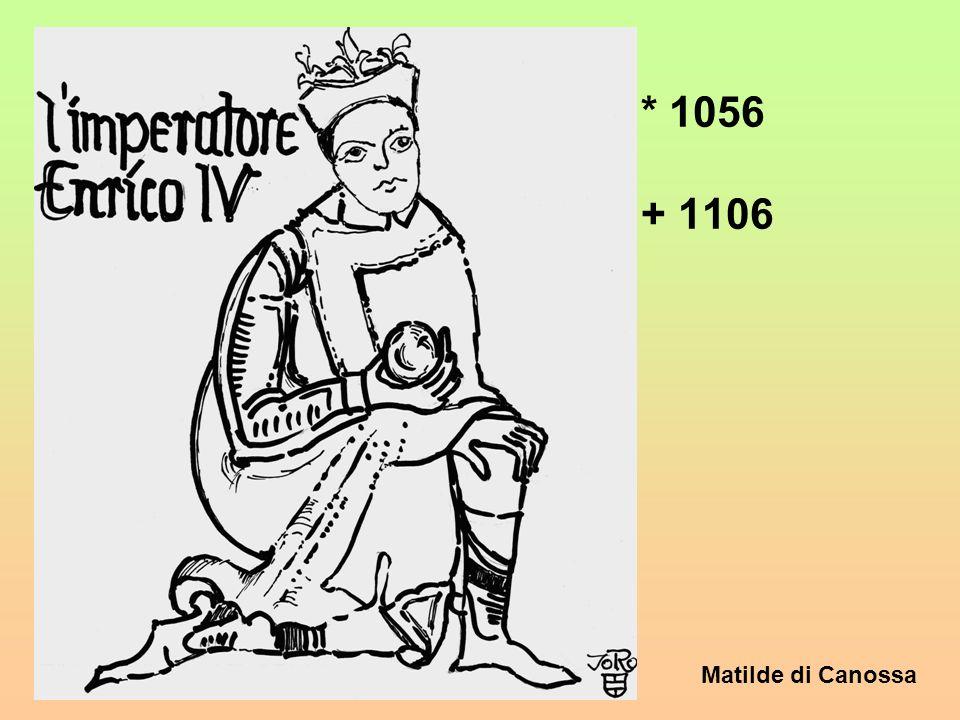 Matilde di Canossa Anno 1077 - La verità ? La verità è che del fatto di Canossa come peralto di vari altri fatti storici, si sono date, si danno e si