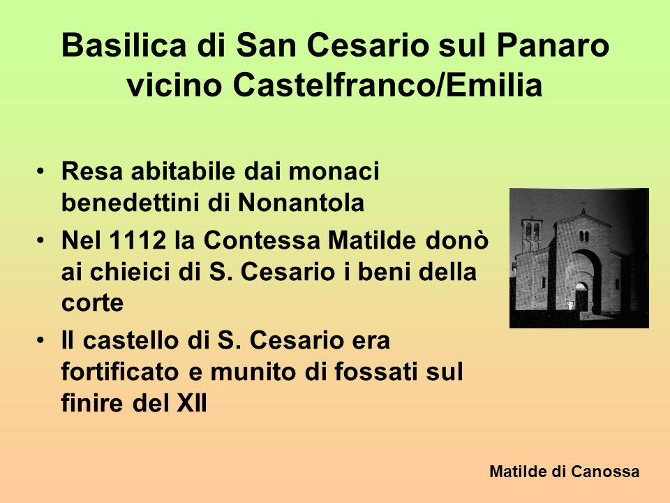 Matilde di Canossa 7.