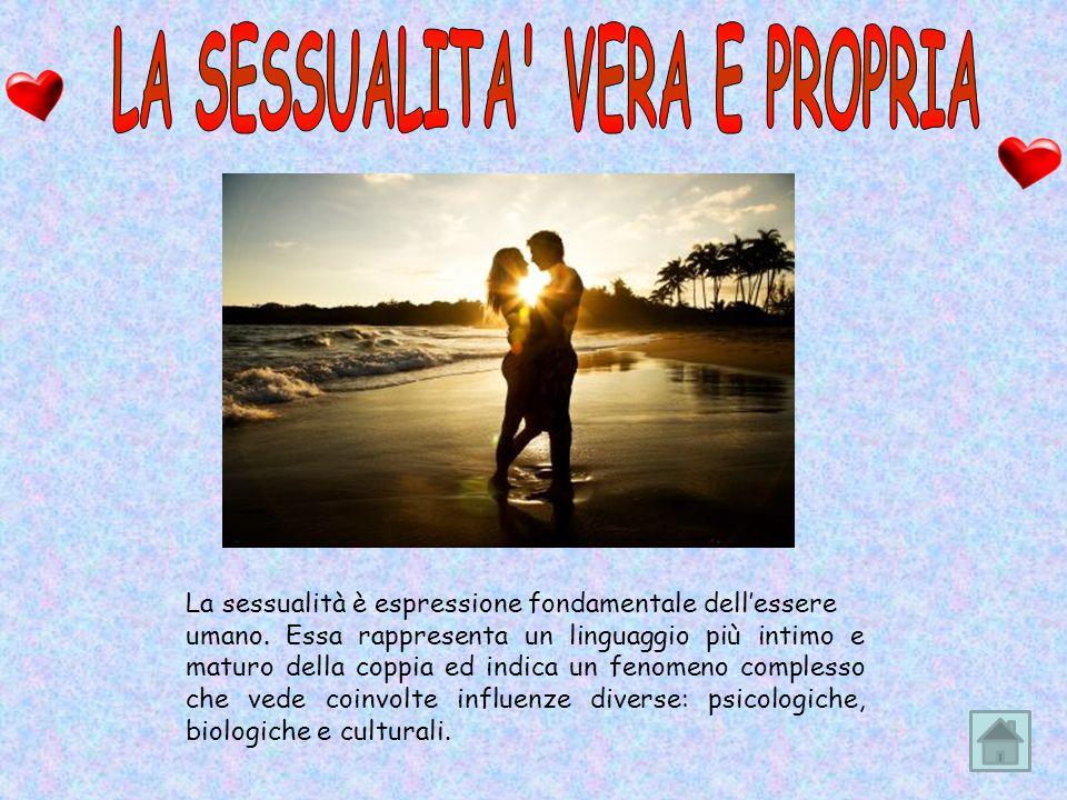 La sessualità è espressione fondamentale dellessere umano.