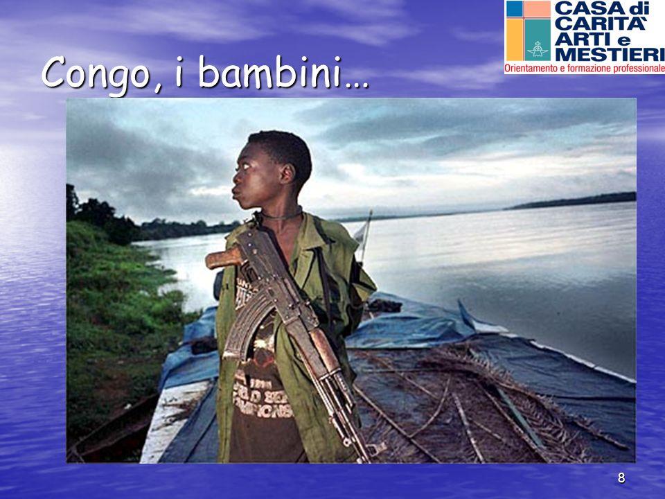 8 Congo, i bambini…