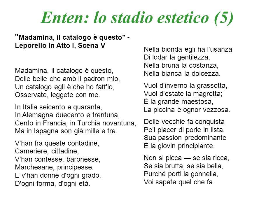 Là ci darem la mano – Duettino, in Atto I, Scena IX Zerlina e Don Giovanni: Là ci darem la mano, Là mi dirai di sì, Vedi, non è lontano, Partiam, ben mio, da qui.