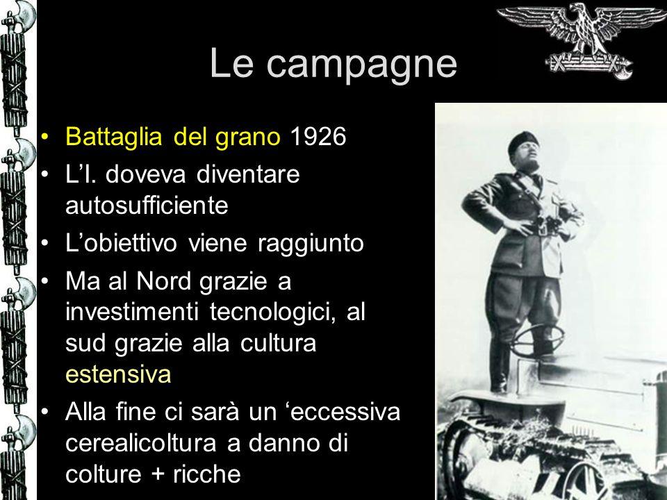 Le campagne Battaglia del grano 1926 LI.