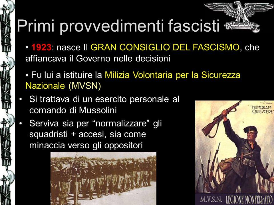 « Considero riforma Gentile come la più fascista fra tutte quelle approvate dal mio governo.