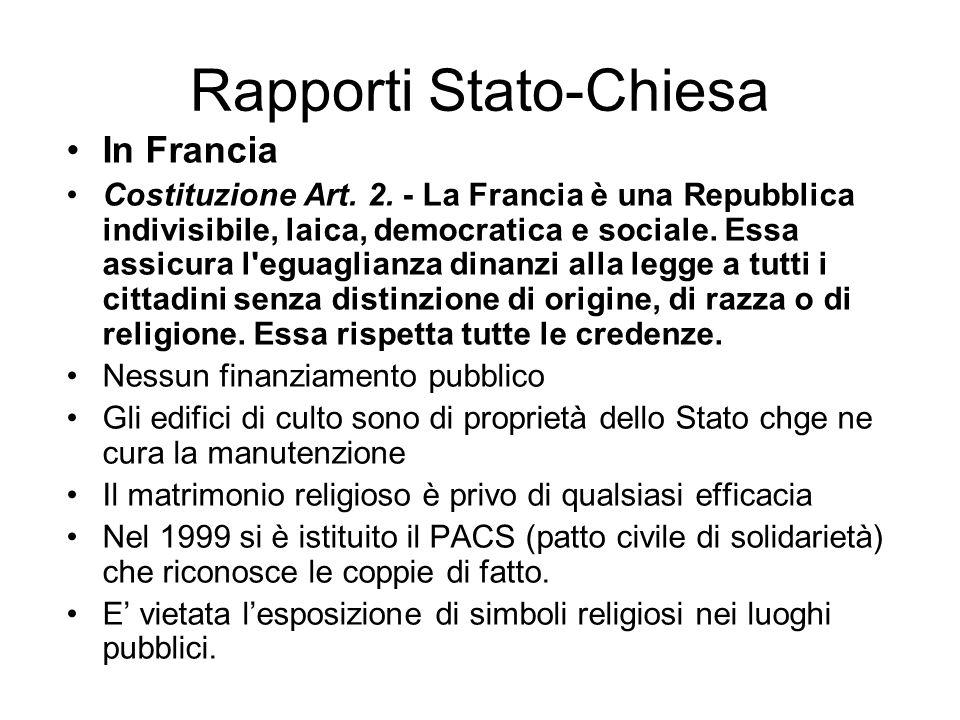 Rapporti Stato-Chiesa In Belgio Esenzione imposta sugli immobili Ora di religione non obbligatoria Matrimonio religioso privo di efficacia legale Poss