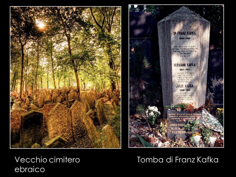 Vecchio cimitero ebraico Tomba di Franz Kafka