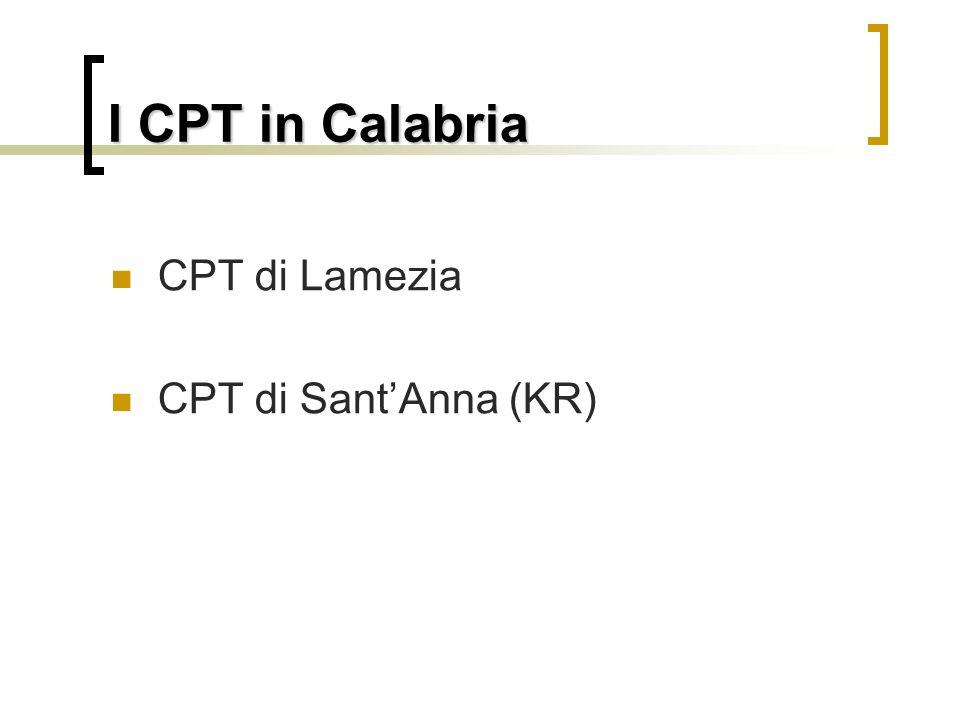 Centri di Permanenza Temporanei Istituiti nel 1998 dalla Turco Napolitano, i CPT sono strutture detentive dove vengono reclusi i cittadini stranieri s