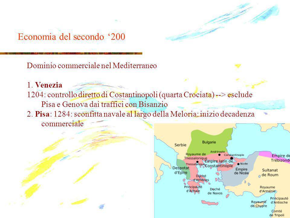 Dominio commerciale nel Mediterraneo 1.