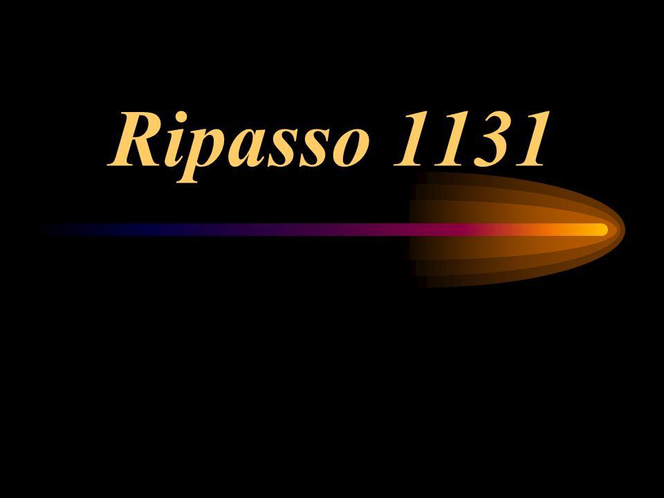 Ripasso 1131