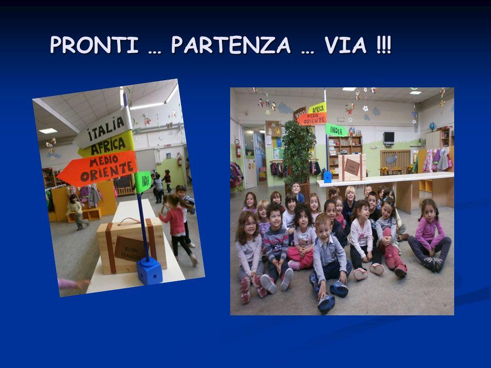 PRONTI … PARTENZA … VIA !!!