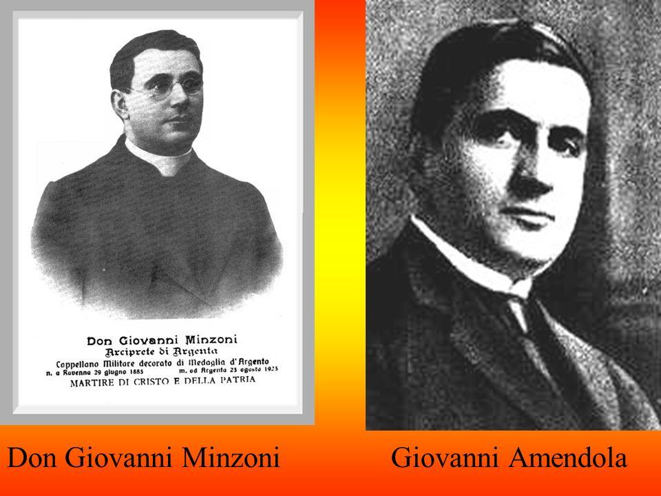 Don Giovanni Minzoni Giovanni Amendola