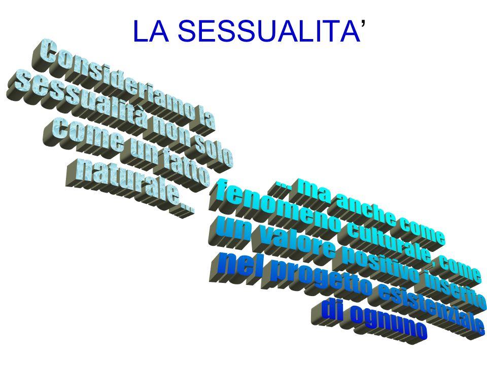 LA SESSUALITA