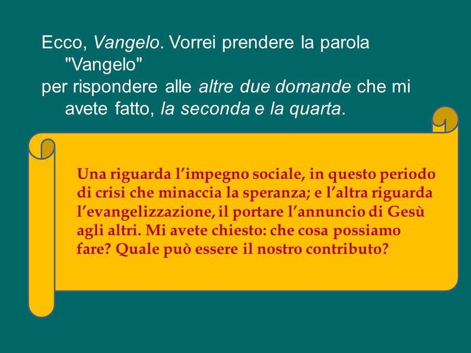 Ma qui ad Assisi non cè bisogno di parole! Cè Francesco, cè Chiara, parlano loro! Il loro carisma continua a parlare a tanti giovani nel mondo intero:
