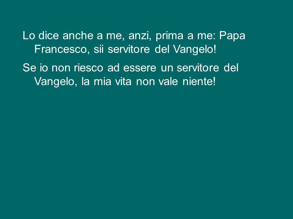 Qui ad Assisi, qui vicino alla Porziuncola, mi sembra di sentire la voce di san Francesco che ci ripete: