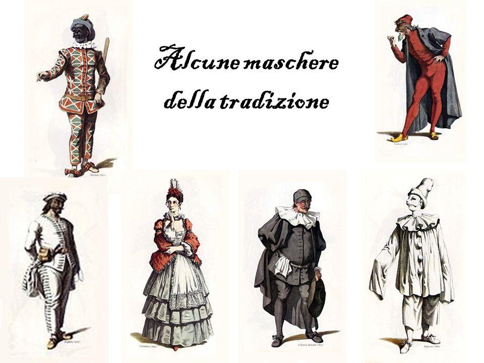 Alcune maschere della tradizione