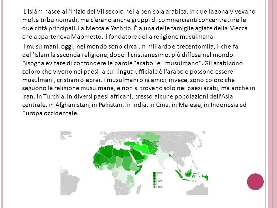 I fondamenti della religione islamica sono raccolti nel corano.