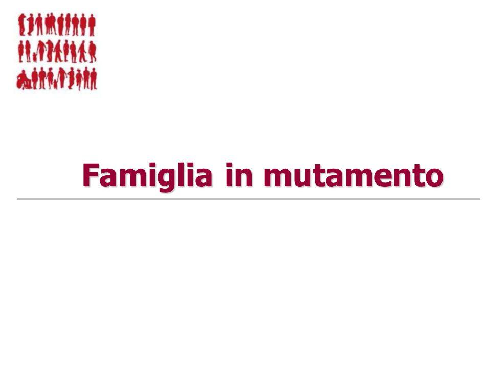 Famiglia in mutamento
