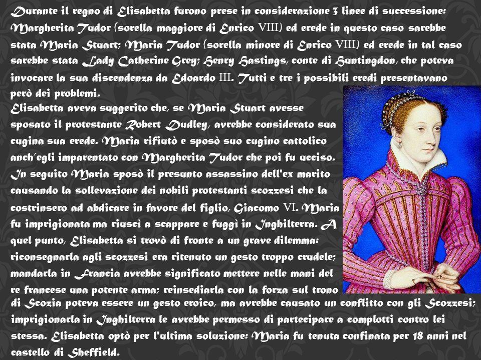 Il controllo papale sulla Chiesa d Inghilterra, ripristinato da Maria, fu definitivamente abolito da Elisabetta e assunse il titolo di Supremo Governatore della Chiesa d Inghilterra ʺ.