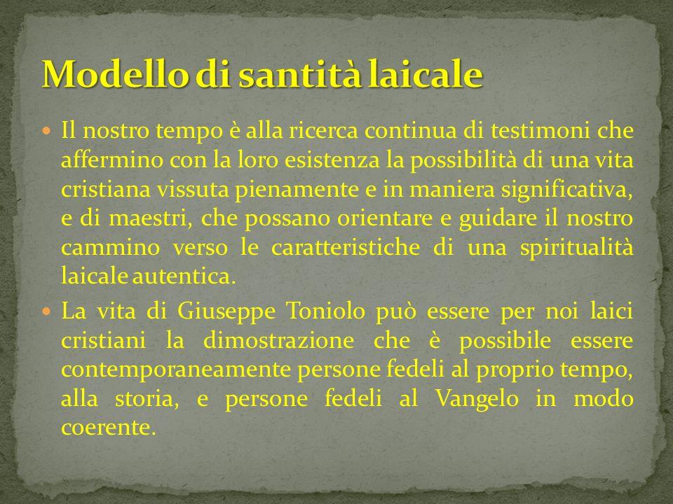 Giuseppe Toniolo nacque a Treviso il 7 marzo 1845.