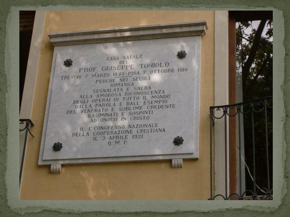«… passando in ferrovia per Treviso il solito pensiero mi si ridestò nellanima.