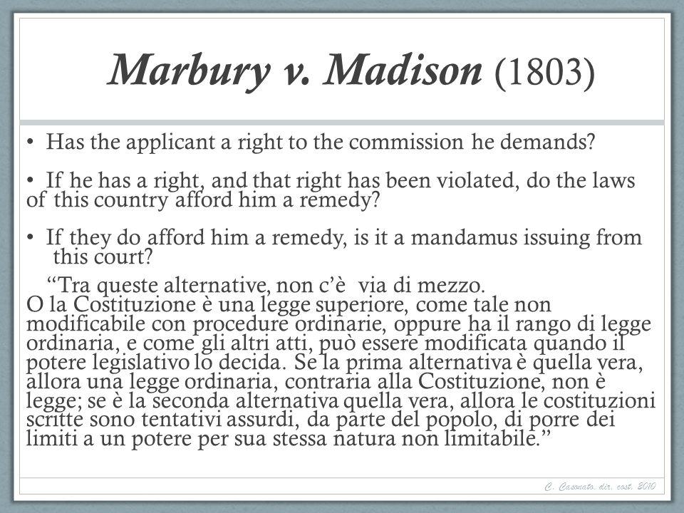 Segue Giudizio accentrato, MA Diffuso : 1948-1956; diritto UE (e CEDU).