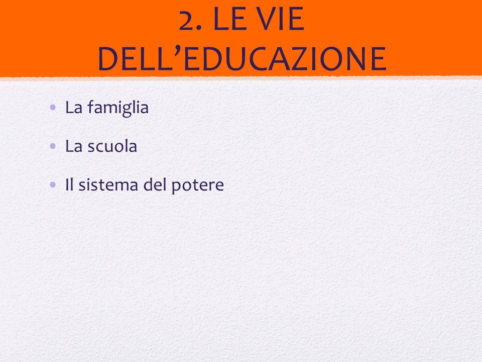 Ma quali i problemi della scuola oggi Oggi si parla sempre meno dei fini delleducazione e si parla sempre più di mezzi e strumenti da applicare a fini diversi che ciascuno si sceglie.