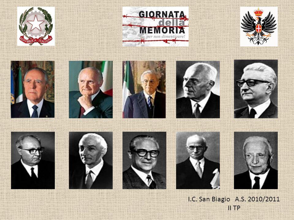 I.C. San Biagio A.S. 2010/2011 II TP