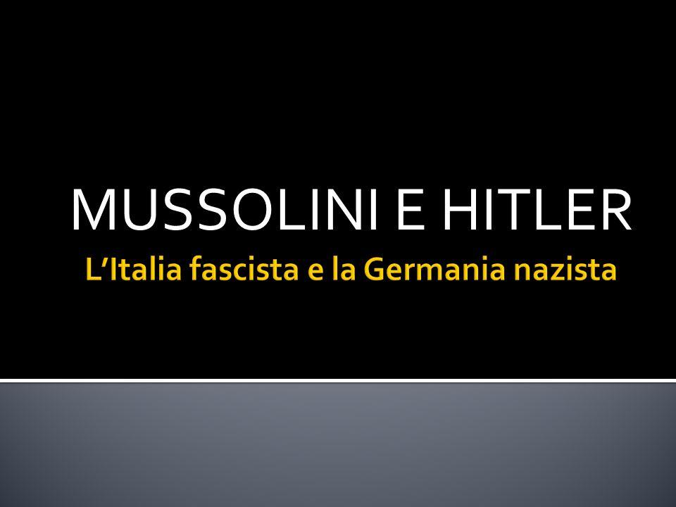 Con lintento di trasformare lItalia in una grande potenza, Mussolini nel 35 aggredì lEtiopia.