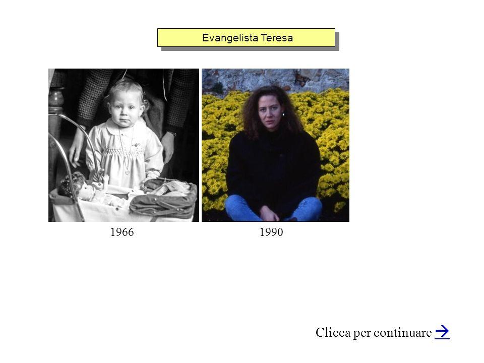 Evangelista Teresa Clicca per continuare 19901966