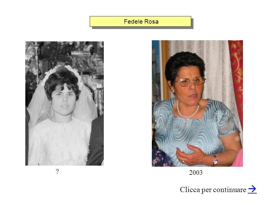 Fedele Rosa Clicca per continuare 2003 ?