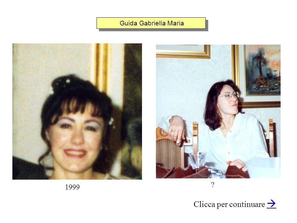 Guida Gabriella Maria Clicca per continuare 1999 ?