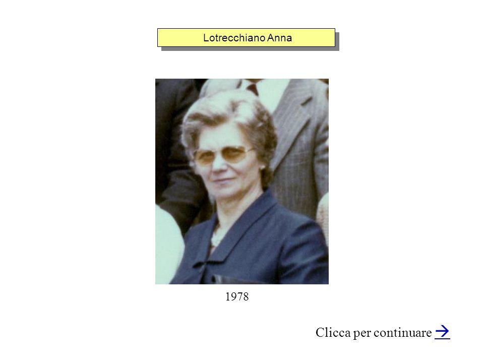 Lotrecchiano Anna Clicca per continuare 1978