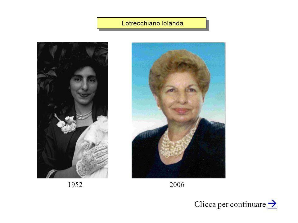 Lotrecchiano Iolanda Clicca per continuare 19522006
