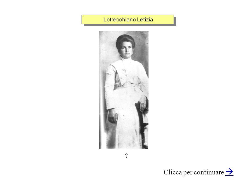 Lotrecchiano Letizia ? Clicca per continuare