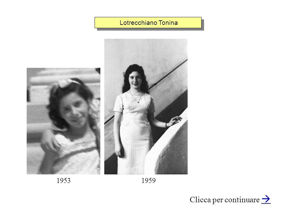 Lotrecchiano Tonina Clicca per continuare 19591953