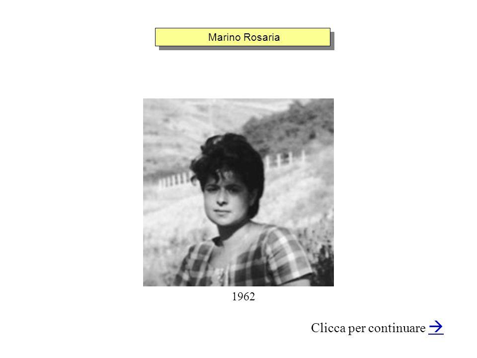 Marino Rosaria Clicca per continuare 1962