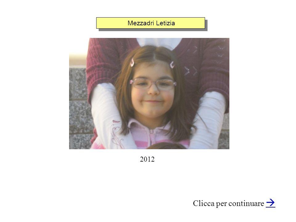 Mezzadri Letizia Clicca per continuare 2012