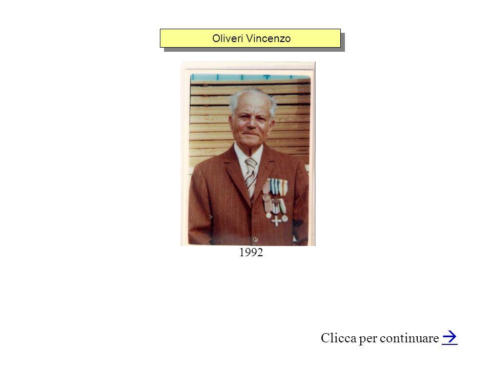 Oliveri Vincenzo Clicca per continuare 1992