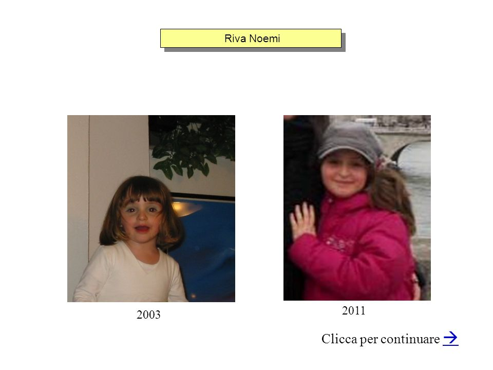 Riva Noemi Clicca per continuare 2003 2011