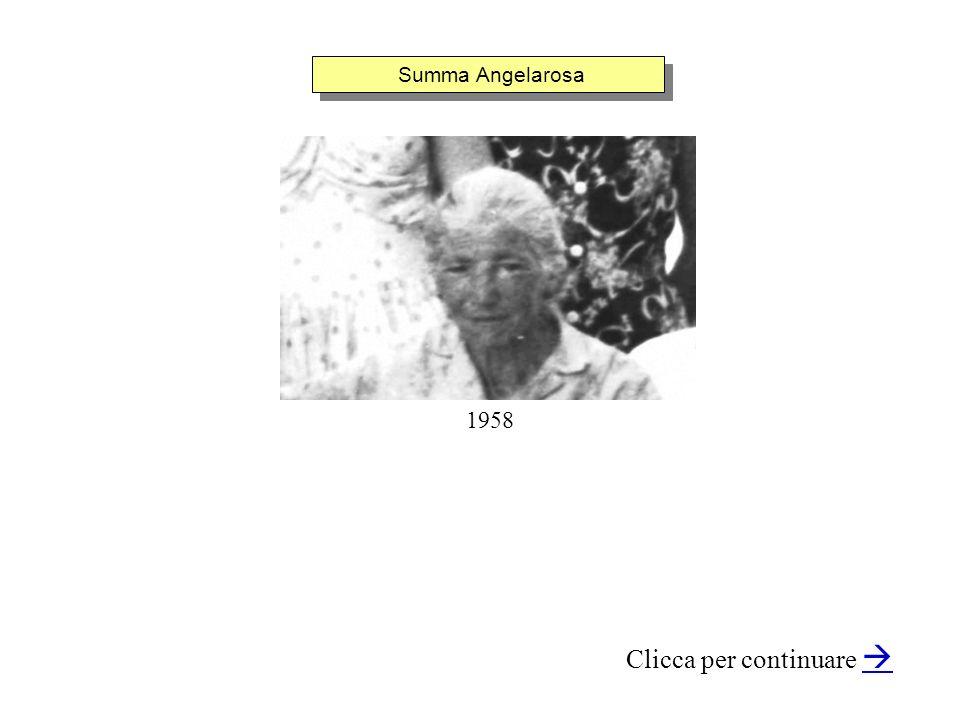Summa Angelarosa Clicca per continuare 1958