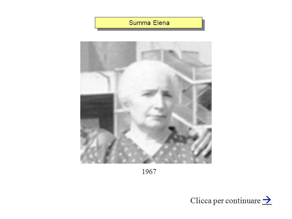 Summa Elena Clicca per continuare 1967