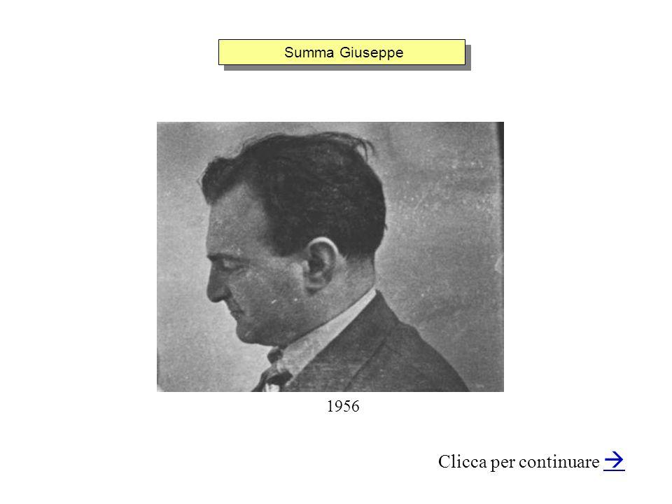 Summa Giuseppe Clicca per continuare 1956