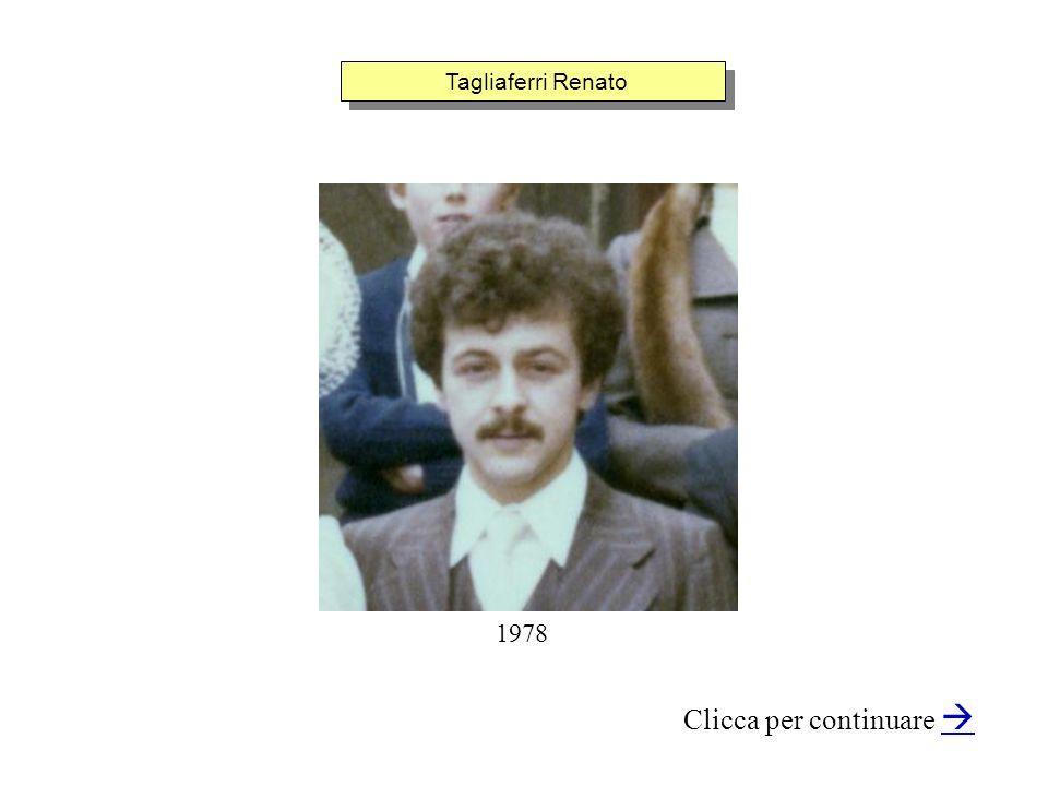 Tagliaferri Renato Clicca per continuare 1978