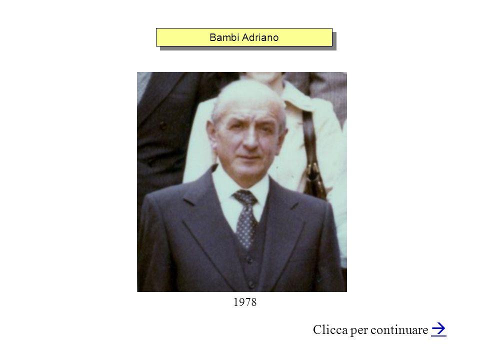 Bambi Adriano Clicca per continuare 1978