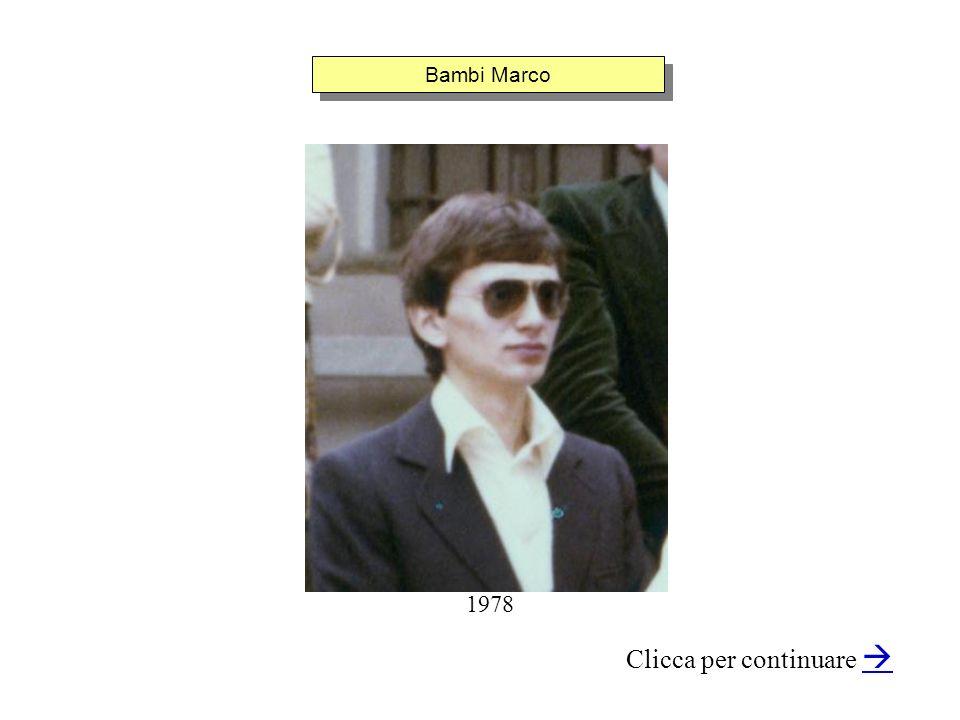 Bambi Marco Clicca per continuare 1978