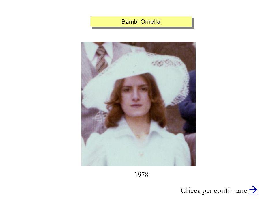 Bambi Ornella Clicca per continuare 1978